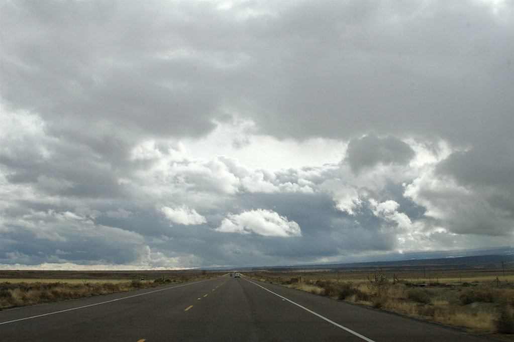 Stormy New Mexico Sky