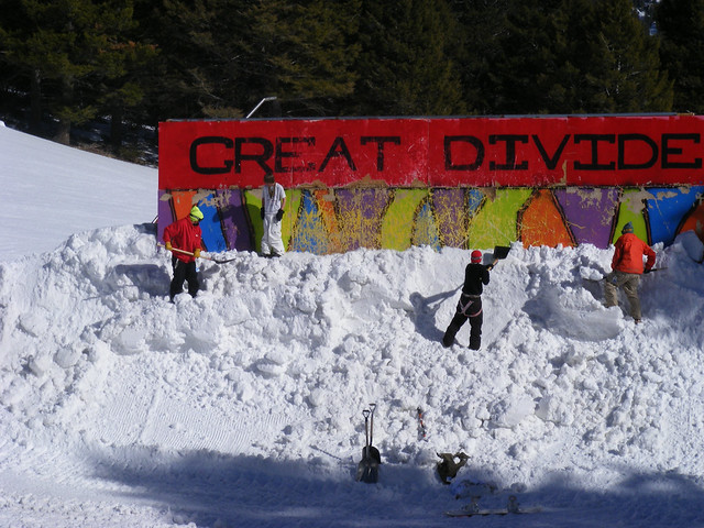Great Divide park crew at work