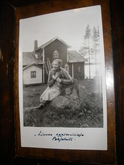 Photo postcard from Ilmari Kianto to Frithiof Tikanoja