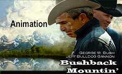 brokeback mountain, george w bush & jeff gannon