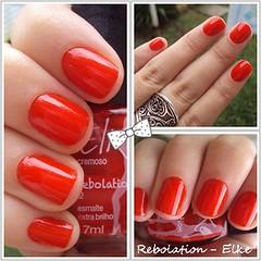 Rebolation - Elke (Juhh -) Tags: vermelho elke unhas esmaltes rebolation