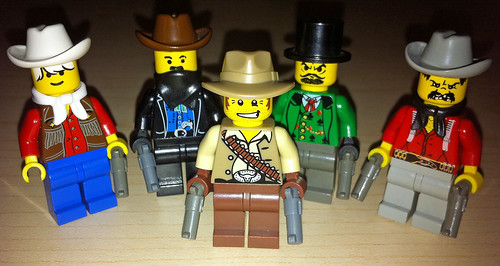 LEGO Collectible Minifigures Series 1 Cowboy vs. Western Cowboys