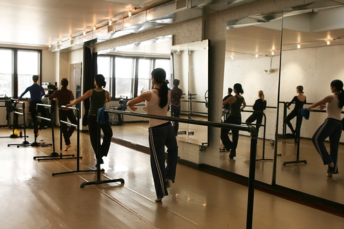 Barre and mirror
