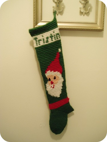 Tristin Crochet Stocking