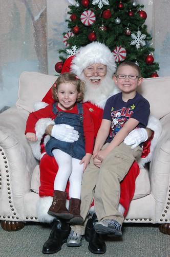 Official Santa Photo of 2010