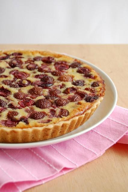Bill's cherry tart / Torta de cereja do Bill
