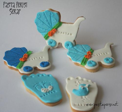 bebek kurabiye set - Hatan bebek