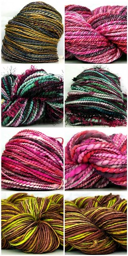 New HandSpun Yarns