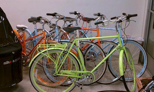 Public Bikes at Flying Pigeon LA