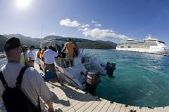 Discover Haiti Coastal Cruise (blueheronco) Tags: cruise haiti dock ship labadee fisheyelense jeweloftheseas royalcaribbeancruises discoverhaiticoastalcruise