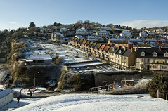 Beer in the Snow (Alastair Cummins) Tags: houses snow beer village devon