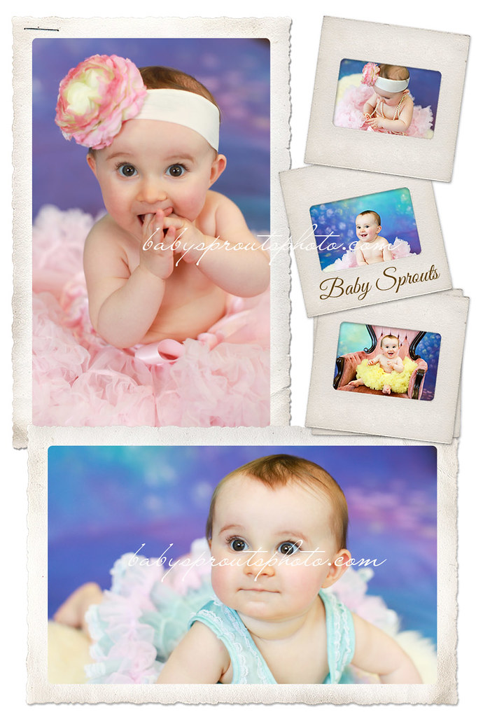 Hayden 9 months pettiskirt mini photo session - Redmond Baby Photography