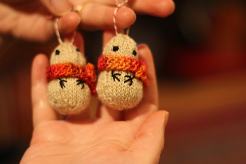 Mini Snowman Ornaments