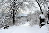 Schneelandschaft (Hinkelstein1) Tags: schnee winter snow home nikon country heimat abendrot abendstimmung blauestunde hardheim heimatland d3000 hinkelstein1