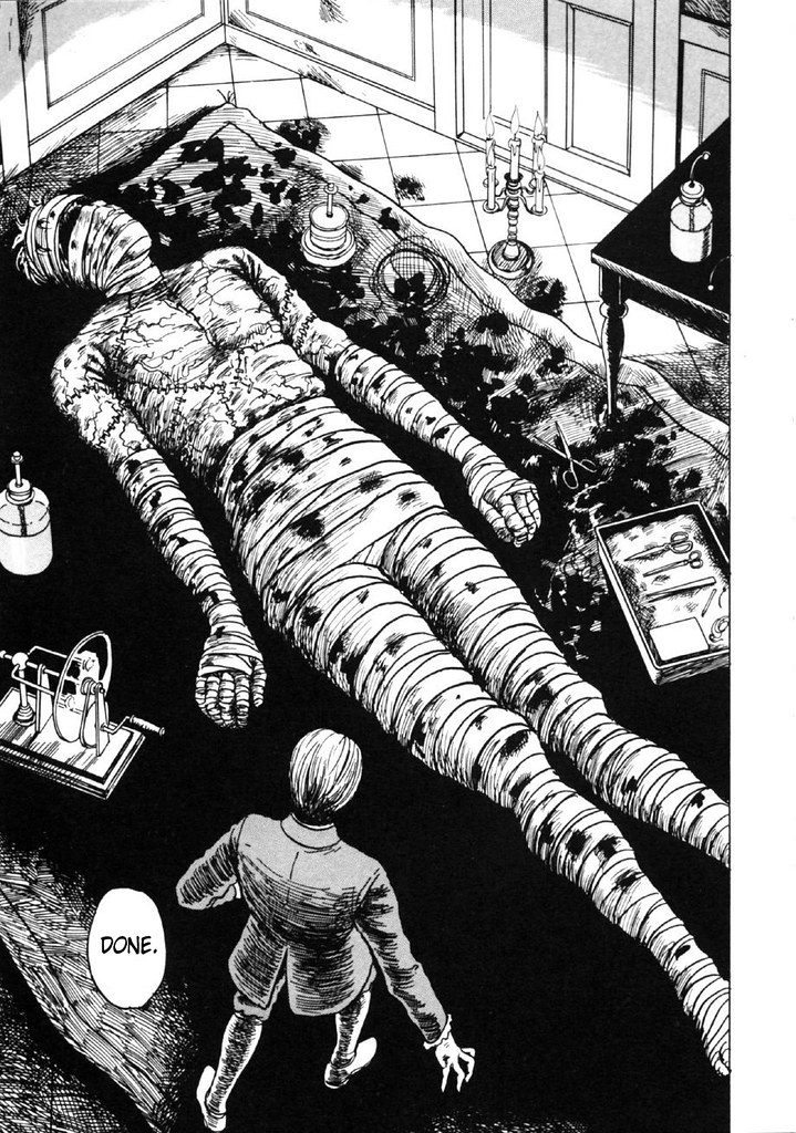 Junji Ito - Frankenstein, Page 047