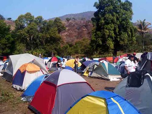 campamento jovenes por la autonomía en oaxaca
