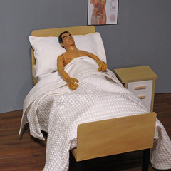 Hospital Bed (smidge girl) Tags: adventure sundance hbo sixthscale funnyordie smidgehouse bricknovax