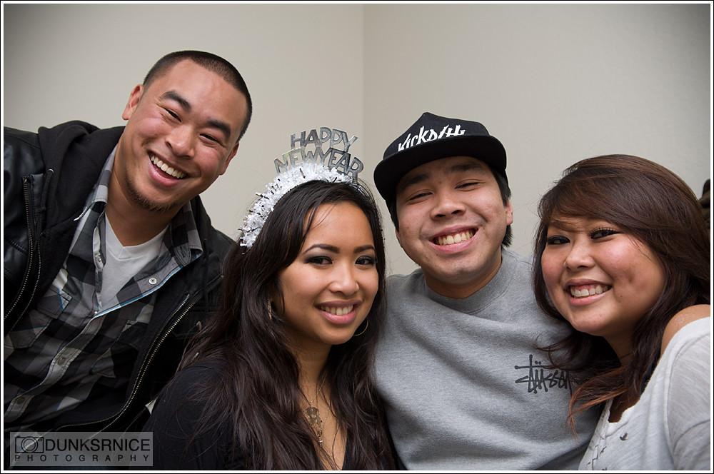 L, Tine, Chris, & Kayla.