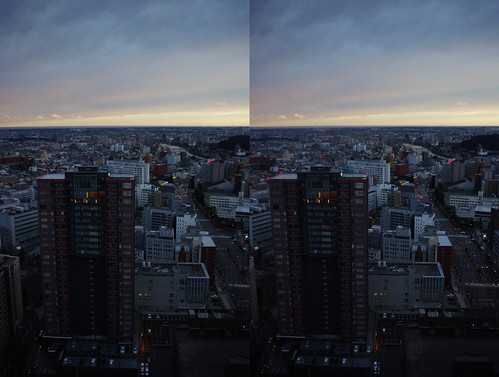 3D parallel view from SS30 bldg.