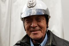Security Guard, Kyoto (Florent Chevalier) Tags: portrait people japan kyoto asia guard security  asie japo japon giappone japani jepang  japonia  japonya bn  nht jaapan japonska japonsko   japonija  japna natgeofacesoftheworld
