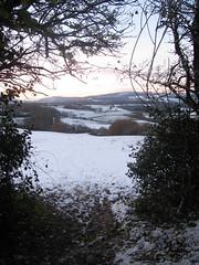 Winter through the Arch (Dave Roberts3) Tags: trees winter mountain snow landscape reservoir newport fields ridgeway littleswitzerland machen potofgold mynydd sirhowyvalley ynysyfro alltyryn twmbarlym