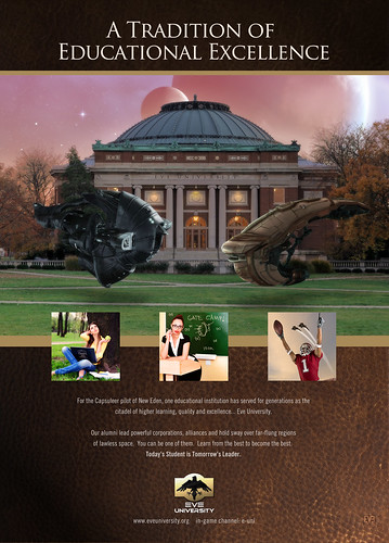 Eve University EON Ad