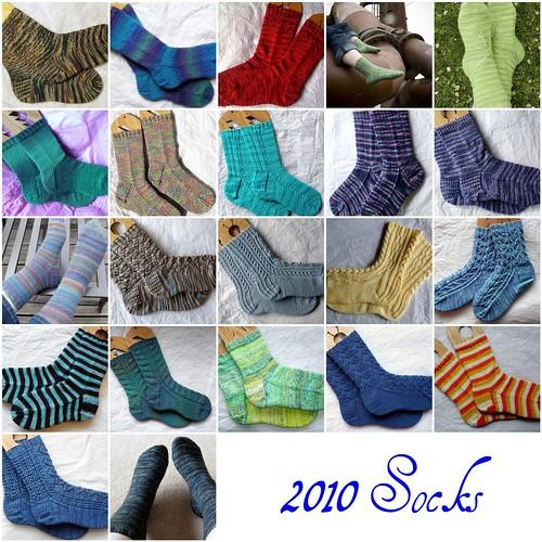2010 sock mosaic