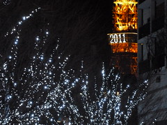 2011東京タワーとイルミネーション