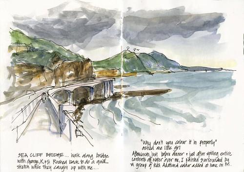 110105 Camp-04 Sea Cliff Bridge