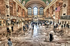 Grand Central HDR (Dave DiCello) Tags: newyorkcity newyork photoshop nikon tripod transit grandcentralstation nikkor grandcentral hdr highdynamicrange cs4 newyorkcitytransit tonemapped colorefex cs5 d700 davedicello hdrefex hdrexposed