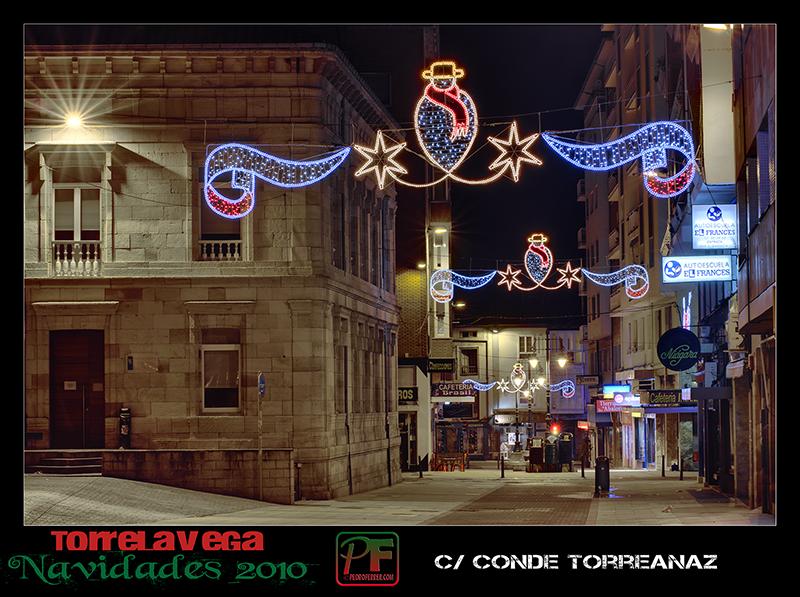 Torrelavega - Conde Torreanaz - Navidades 2010