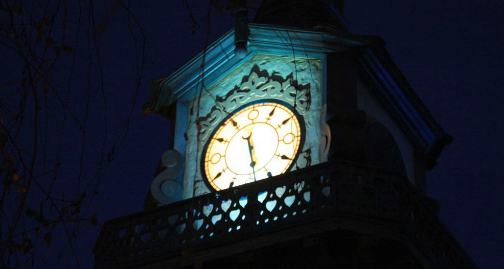 Peter Pan Clock Tower