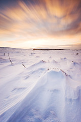 (Surely Not) Tags: longexposure sunset snow scotland edinburgh wideangle hills pentland nikond700 leebigstopper nikon1635mm