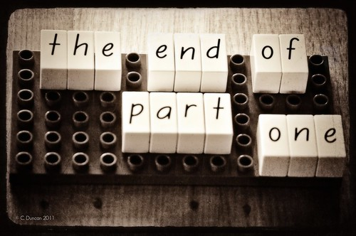 The end of part one - 365/365