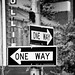 New York City one way