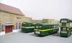 Dorking bus garage diorama (kingsway john) Tags: ds dorking bus garage kingsway models station london transport card kits 176 scale diorama londontransportmodel model oo gauge miniature