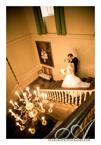 crane-estate-castle-hill-wedding-real-inspiration-mm- grand staircase in ipswich ma mansion