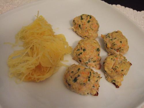 Spunky Coconut Chicken Meatballs