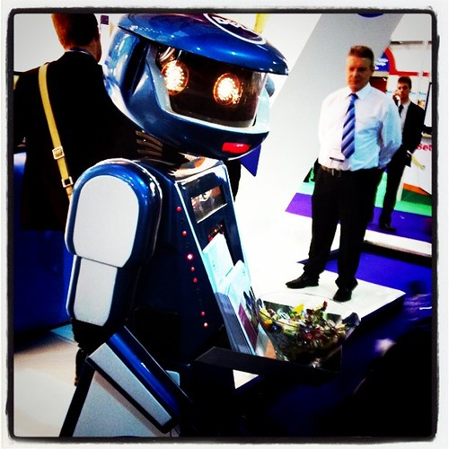 I for one welcome our robot teacher over by Phillie Casablanca, on Flickr