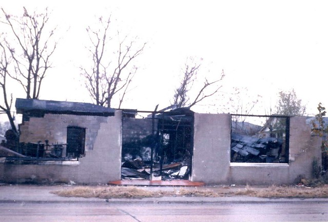 1964 Frank Morris Shoe Shop Destroyed