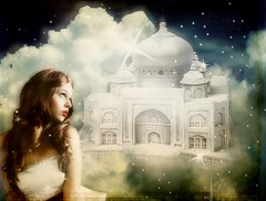 photoshop photoshopped tajmahal fantasy dreams mii dromen luchtkasteel exploreworthy faestock galleryofdreams trolledproud rubystreasures