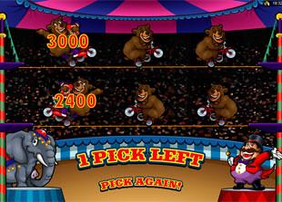 free The Grand Circus bonus game