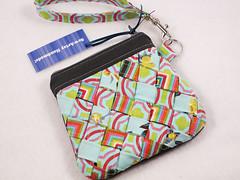 Woven front wristlet (SewArtsy) Tags: sewing embellishment weave wristlet