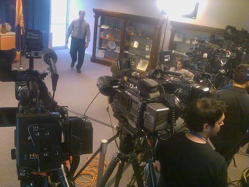 Into the Presser