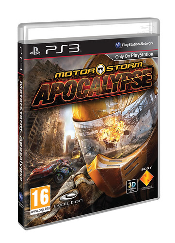 MotorStorm Apocalypse PS3 EU box art
