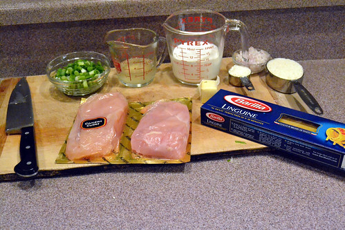 Green Onion Chicken Ingredients