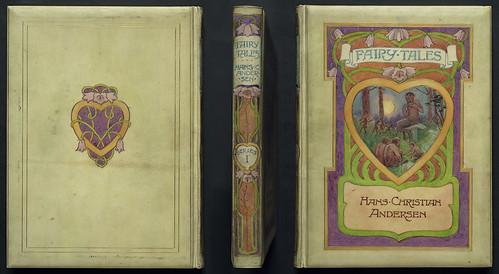 Vellucent vellum binding, early 20th century
