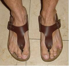 Thongsandals Birks (gunter1415) Tags: feet toes amputee zehen toeamputee ninetoed