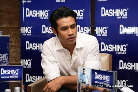 Remy Ishak the new brand ambassador for DASHING FOR MEN (Custom)