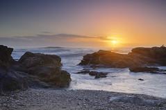 Coucher de soleil  la Chaume (emvri85) Tags: sunset sea mer france waves vagues hdr coucherdesoleil vende lessablesdolonne paysdelaloire lachaume